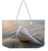 Shell On The Beach Weekender Tote Bag