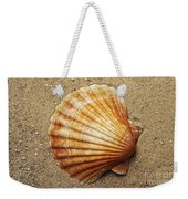 Shell On The Sand Weekender Tote Bag