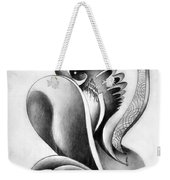 Shell-shaped Buiding From The Land Of Absurd Weekender Tote Bag