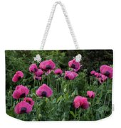 Shell Shaped Poppies Weekender Tote Bag