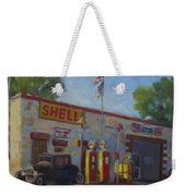 Shell Station Brown County Weekender Tote Bag