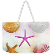 Shells Background Weekender Tote Bag