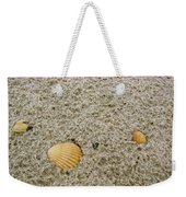 Shells In The Sand Weekender Tote Bag