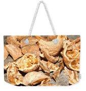 Shells Of Nut Weekender Tote Bag