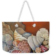 Shells On Shelf Weekender Tote Bag