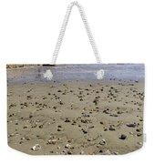 Shells On The Beach Weekender Tote Bag