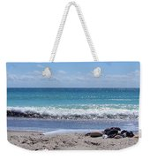 Shells On The Beach Weekender Tote Bag