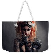 Shelly 1 Weekender Tote Bag