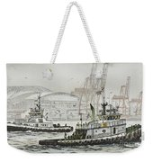 Shelly And Wedell Foss Weekender Tote Bag