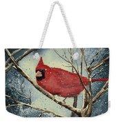 Shelly's Cardinal Weekender Tote Bag
