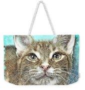Shelter Cat Fantasy Art Weekender Tote Bag