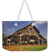 Shelter From The Storm Wrayswood Barn Weekender Tote Bag