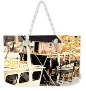 Sheltered Port Weekender Tote Bag