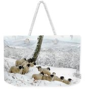 Sheltering Flock Weekender Tote Bag