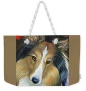 Sheltie - Collie Weekender Tote Bag