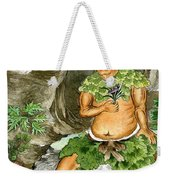 Shennong, Chinese Deity Of Medicine Weekender Tote Bag
