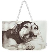 Shepherd Dog Frieda Weekender Tote Bag