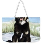 Shepherd Mix Timmy Weekender Tote Bag