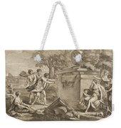 Shepherds In Arcadia Weekender Tote Bag
