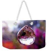 Sherbet Crystal Teardrop Weekender Tote Bag