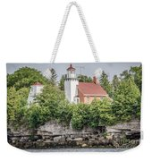Sherwood Point Lighthouse Weekender Tote Bag