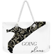 She's Going Places. Weekender Tote Bag