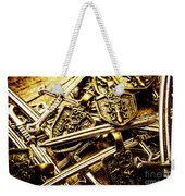 Shields And Swords Weapons Weekender Tote Bag