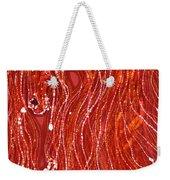 Shimmer Weekender Tote Bag by Carol  Law Conklin