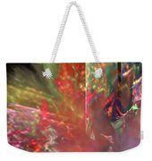 Shimmer Leaves Weekender Tote Bag