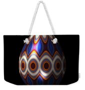Shimmering Christmas Ornament Egg Weekender Tote Bag