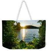 Shimmering Evening Weekender Tote Bag