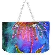 Shimmering Floral Weekender Tote Bag