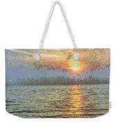 Shimmering Light Over The Water Weekender Tote Bag