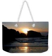 Shimmering Sands Sunset Weekender Tote Bag