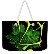 Shin - First Hebrew Letter Of Shalom Weekender Tote Bag