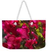 Shine On Bougainvillea Weekender Tote Bag