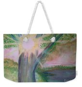 Shine Thru Weekender Tote Bag