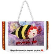 Shine Your Heart Bright  Weekender Tote Bag