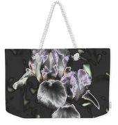 Shiny Irises Weekender Tote Bag