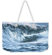 Shiny Wave Weekender Tote Bag