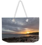 Ship Harbor Weekender Tote Bag