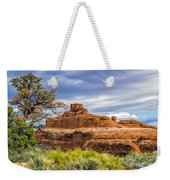 Ship In The Desert Weekender Tote Bag