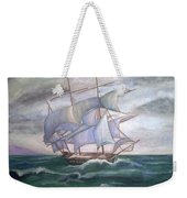 Ship Out To Sea Weekender Tote Bag