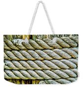 Ship Rope Anchored Weekender Tote Bag