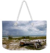 Ship Wrecked And Buried Weekender Tote Bag