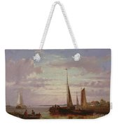 Shipping In A Calm  Weekender Tote Bag