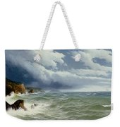 Shipping In Open Seas Weekender Tote Bag by David James