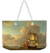 Shipping In The Thames Estuary Weekender Tote Bag