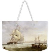 Shipping Off Hartlepool Weekender Tote Bag