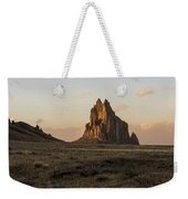 Shiprock 2 - North West New Mexico Weekender Tote Bag